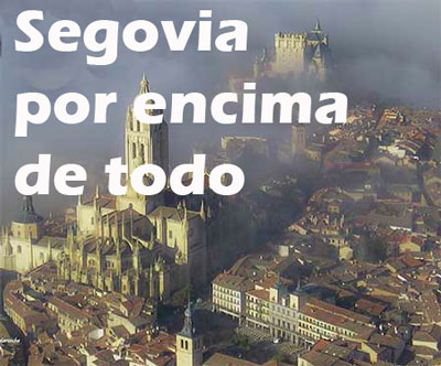 Segovia en parapente
