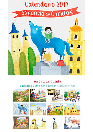 Calendario 2019. Segovia de cuentos