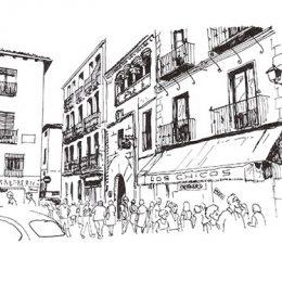 Reedición de Las Casas de Segovia, de Martínez de Pisón